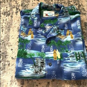 Other - Men's tropical short sleeve shirt Size Large